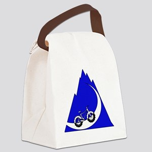 Fat Bike mountain Canvas Lunch Bag
