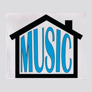 House Music Throw Blanket