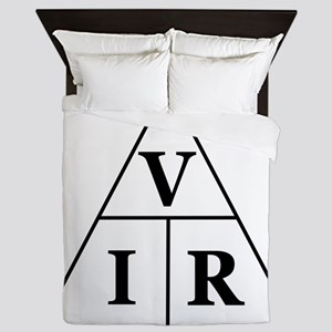 OHM's Law Triangle Queen Duvet
