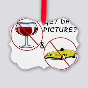 Dont Drink  Drive Picture Ornament