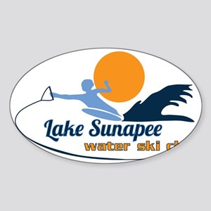 Lake Sunapee Water Ski Club Sticker (Oval)