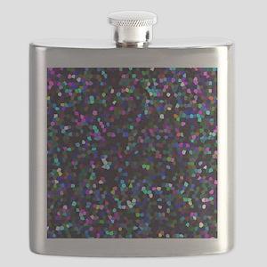 Mosaic Glitter 1 Flask