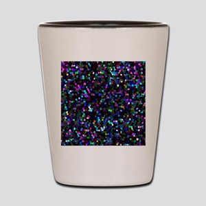 Mosaic Glitter 1 Shot Glass