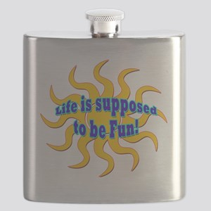 LG Life Is Supposed To Be Fun Flask