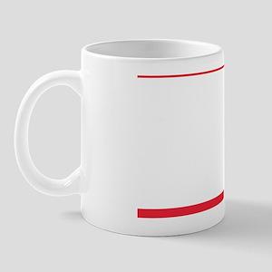 Austrian Flag Shower Curtain Mug