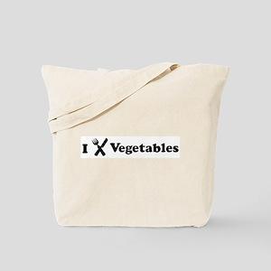 I Eat Vegetables Tote Bag