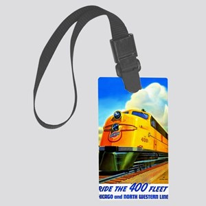 Ride the 400 Fleet Large Luggage Tag