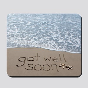 get well Mousepad