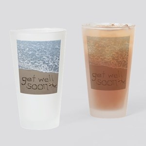 get well Drinking Glass