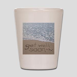 get well Shot Glass