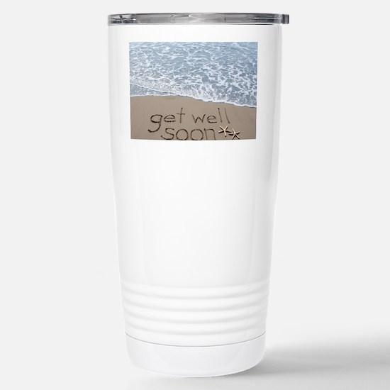 get well Stainless Steel Travel Mug