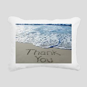 thank you Rectangular Canvas Pillow