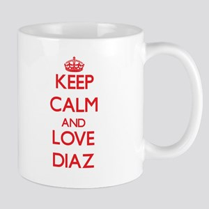 Keep calm and love Diaz Mugs