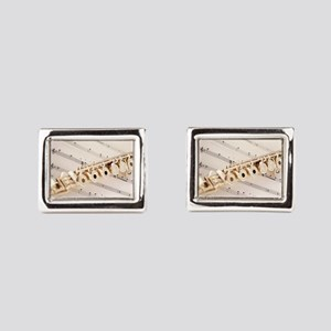Flute and Music Cufflinks