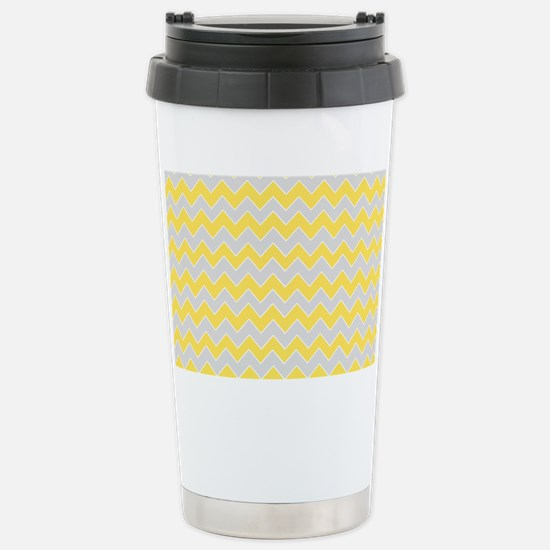 Chevron Zigzag Pattern  Stainless Steel Travel Mug