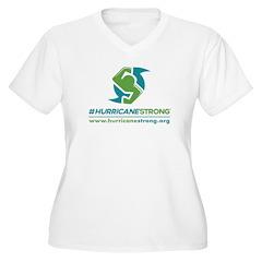 Hurricanestrong V-Neck Plus Size T-Shirt