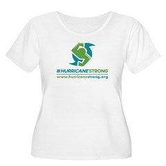 Hurricanestrong Scoop Neck Plus Size T-Shirt