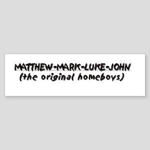 Original Homeboys Bumper Sticker