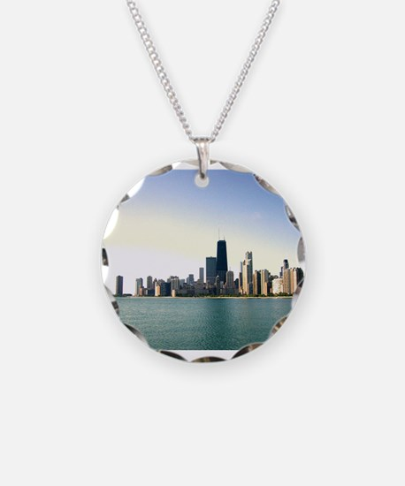 Sunrise Over Chicago Necklace