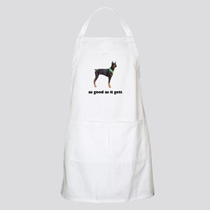 Good Doberman Pinscher Photo BBQ Apron