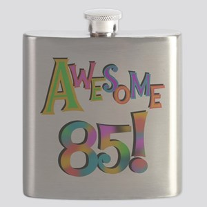 Awesome 85 Birthday Flask