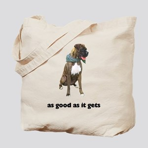 Brindle Great Dane Photo Tote Bag