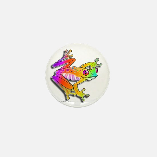 Pop Art FROG Mini Button