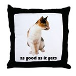 Calico Cat Photo Throw Pillow