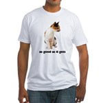 Calico Cat Photo Fitted T-Shirt
