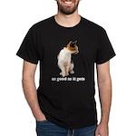 Calico Cat Photo Dark T-Shirt