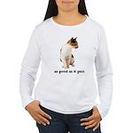 Calico Cat Photo Women's Long Sleeve T-Shirt