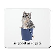Tabby Cat Photo Mousepad