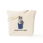 Tabby Cat Photo Tote Bag