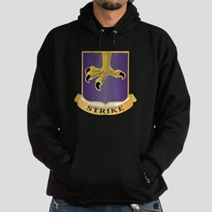 DUI - 2nd Bn - 502nd Infantry Regiment Hoodie (dar