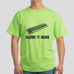 Allergic to Silence Keyboard T-Shirt