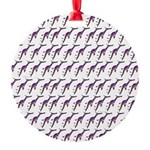Weedy Sea Dragon Sea Horse pattern Ornament