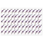 Weedy Sea Dragon Sea Horse pattern Posters