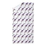 Weedy Sea Dragon Sea Horse pattern Beach Towel