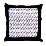 Weedy Sea Dragon Sea Horse pattern Throw Pillow