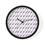 Weedy Sea Dragon Sea Horse pattern Wall Clock