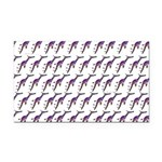 Weedy Sea Dragon Sea Horse pattern Rectangle Car M