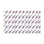 Weedy Sea Dragon Sea Horse pattern Rectangle Car M