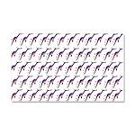 Weedy Sea Dragon Sea Horse pattern Car Magnet 20 x