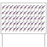 Weedy Sea Dragon Sea Horse pattern Yard Sign