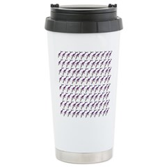 Weedy Sea Dragon Sea Horse pattern Travel Mug