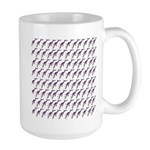 Weedy Sea Dragon Sea Horse pattern Mugs