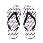 Weedy Sea Dragon Sea Horse pattern Flip Flops