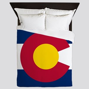 Flag Of Colorado Queen Duvet
