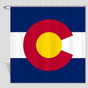 Flag Of Colorado Shower Curtain