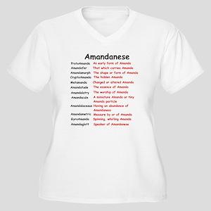 Amandanese Plus Size T-Shirt